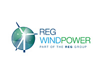 REG Windpower logo